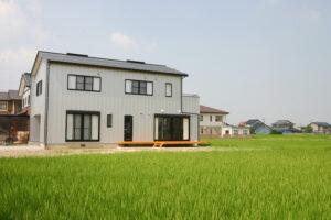 大沢野で自然素材の家