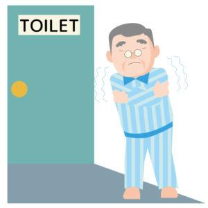 トイレが寒い