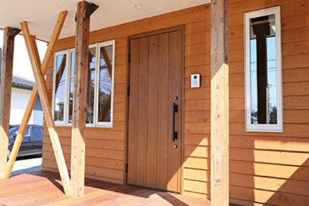 事務所兼、自然素材の体感ルーム建設